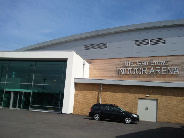 redbridge sports hall exterior 2