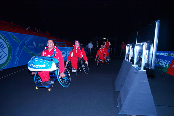 Wheelchair Players TeamEngland 2012